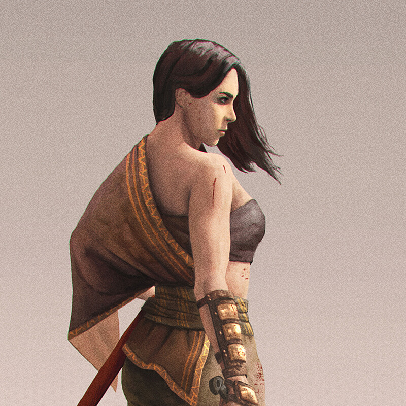 Character Design - Natara