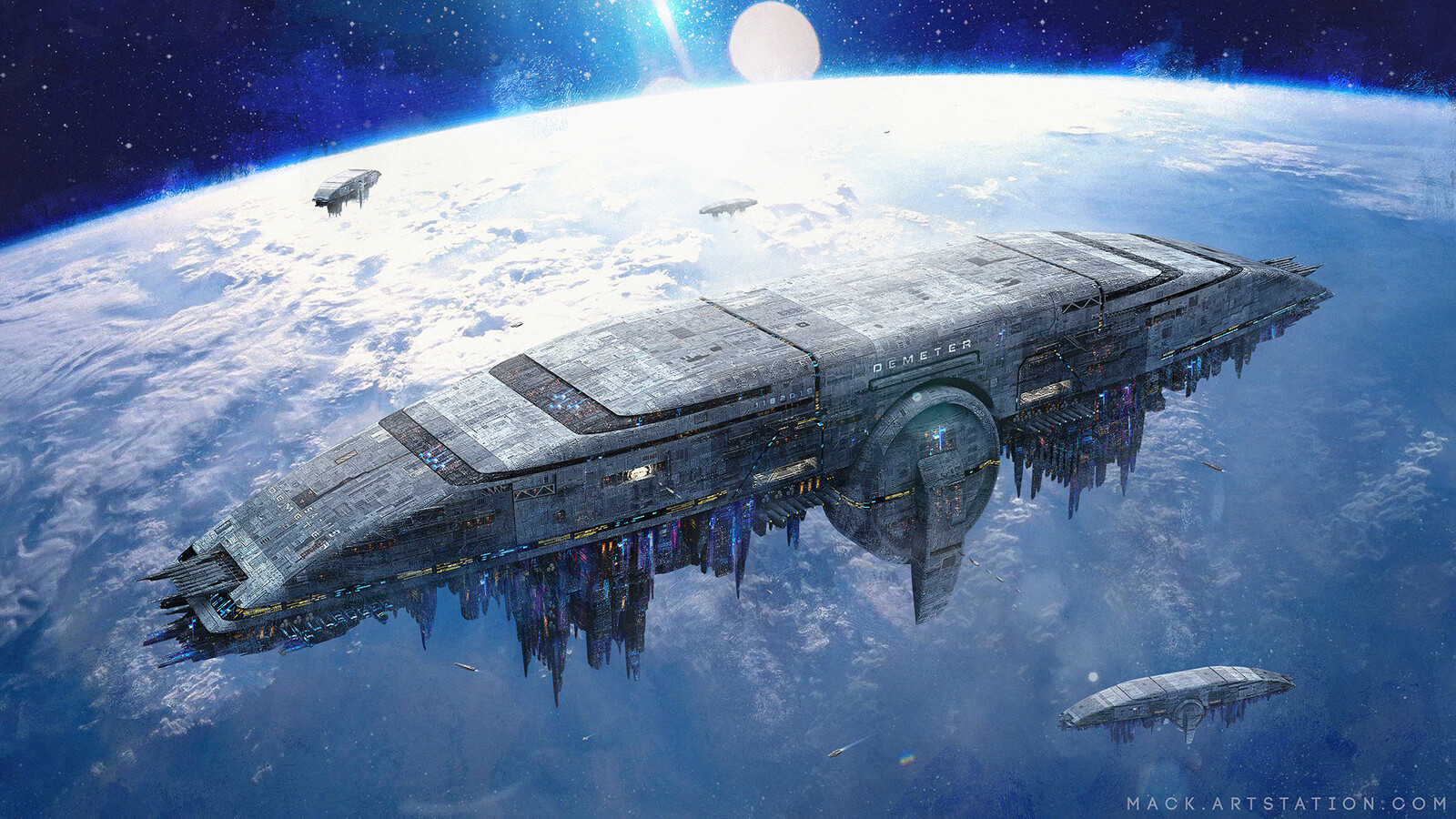 "High Orbit Station SA - 119 ""DEMETER"""