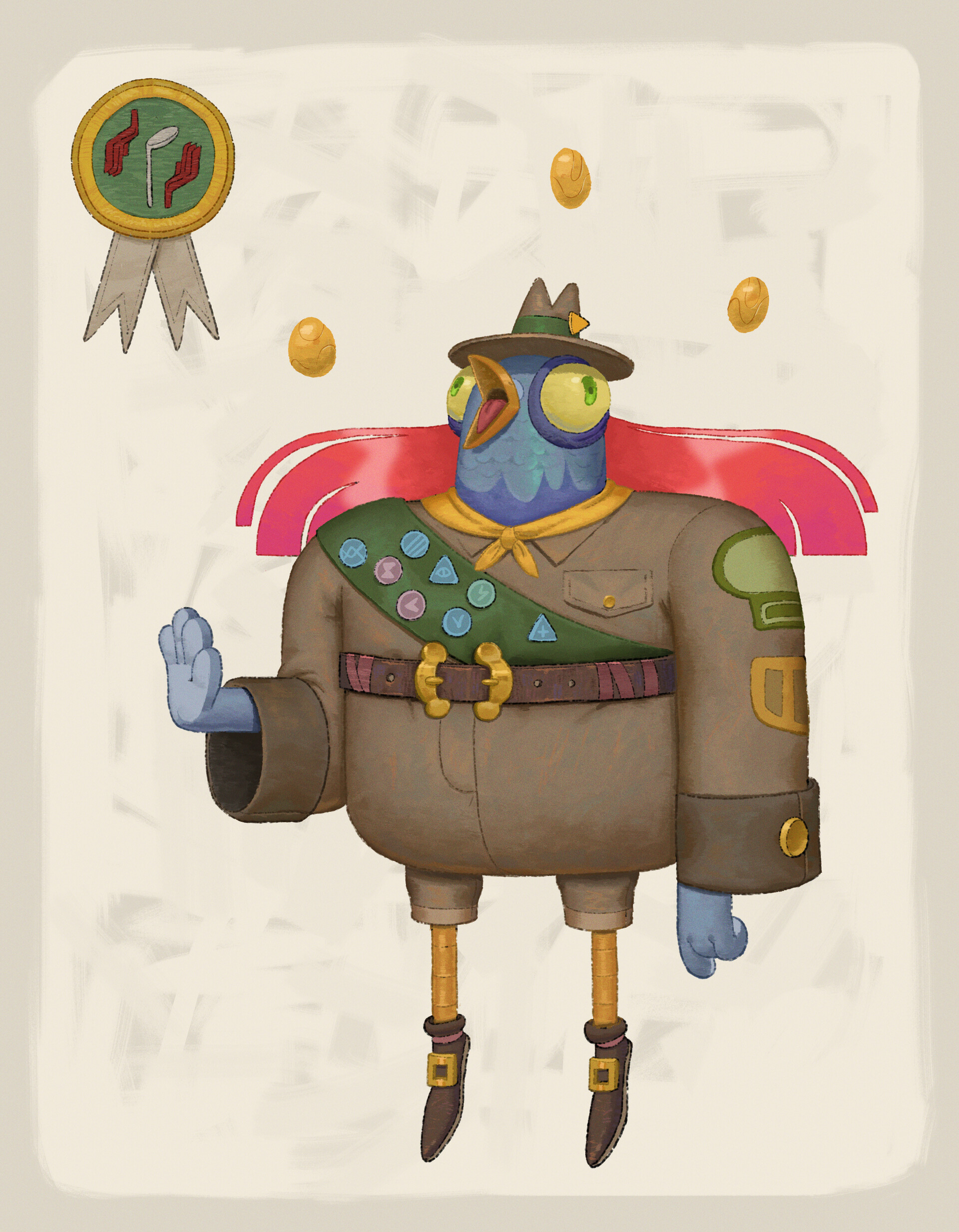 Pigeon scout