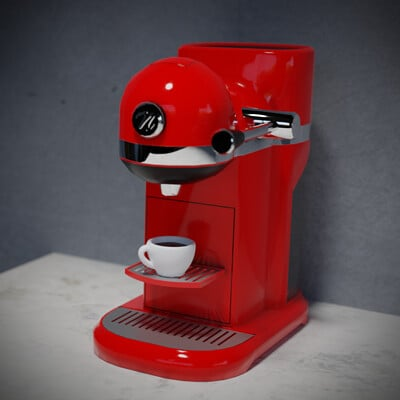 Eric quesada rendercoffeemachine2
