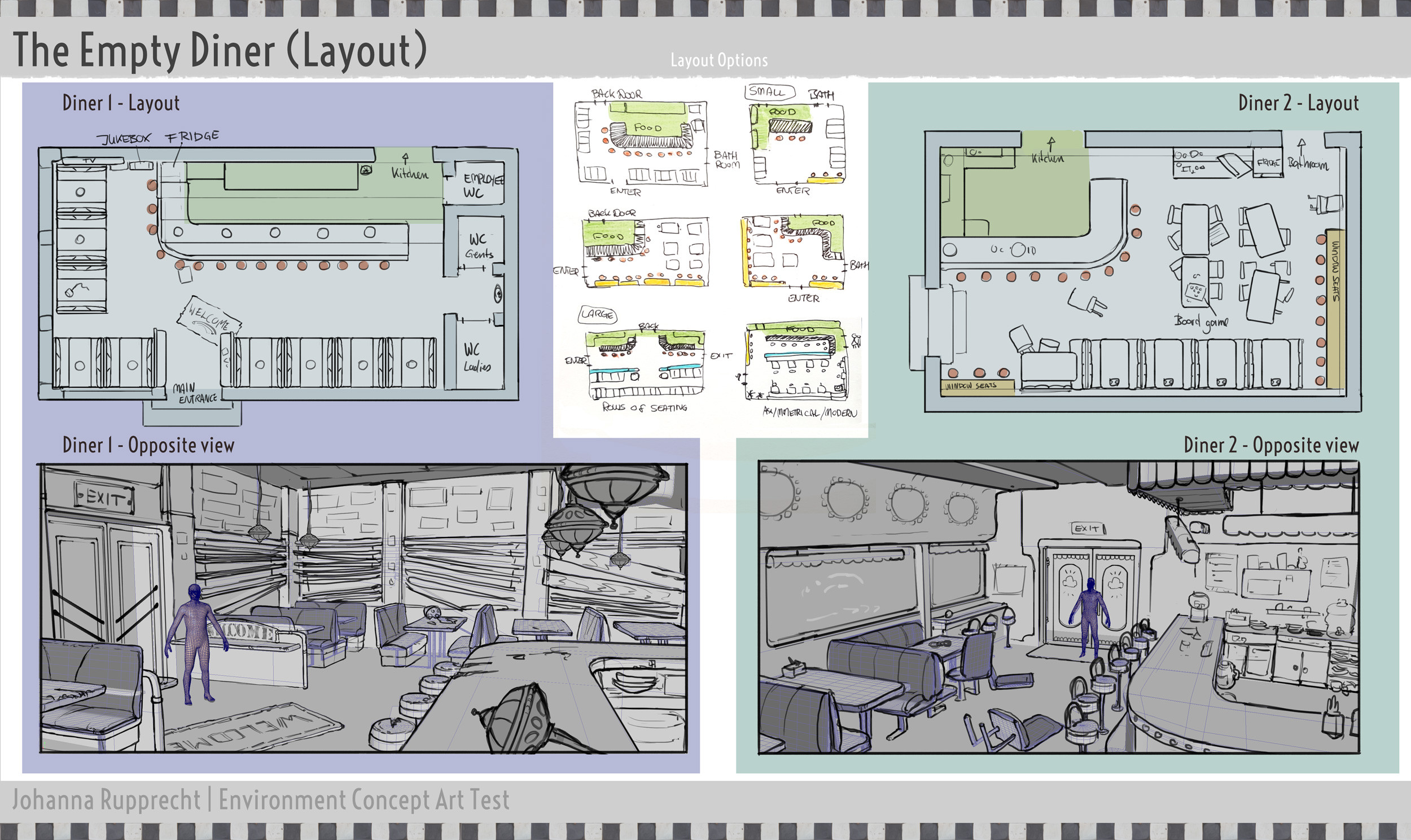 Diner Layouts