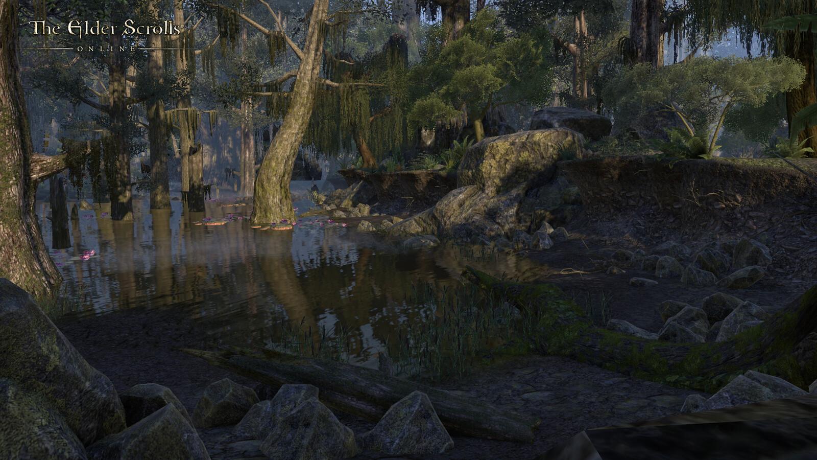 World building alpha pocket created for Elder Scrolls Online. All scene building and lighting done by myself.
