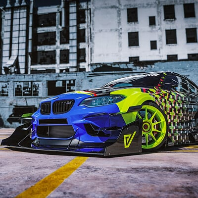 Javier oquendo time attack m2 livery