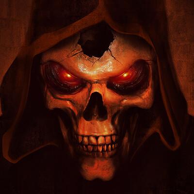 Isaiah sherman isaiahsherman d2 skull fanart web