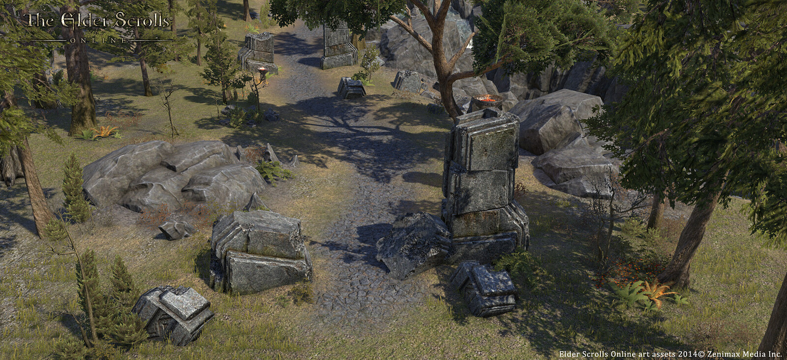 Stone Arch in game screen shot