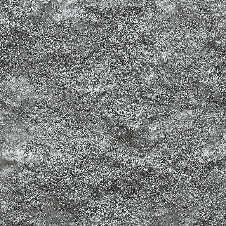 Zbrush sculpt of tileable dirt texture created for ESO.