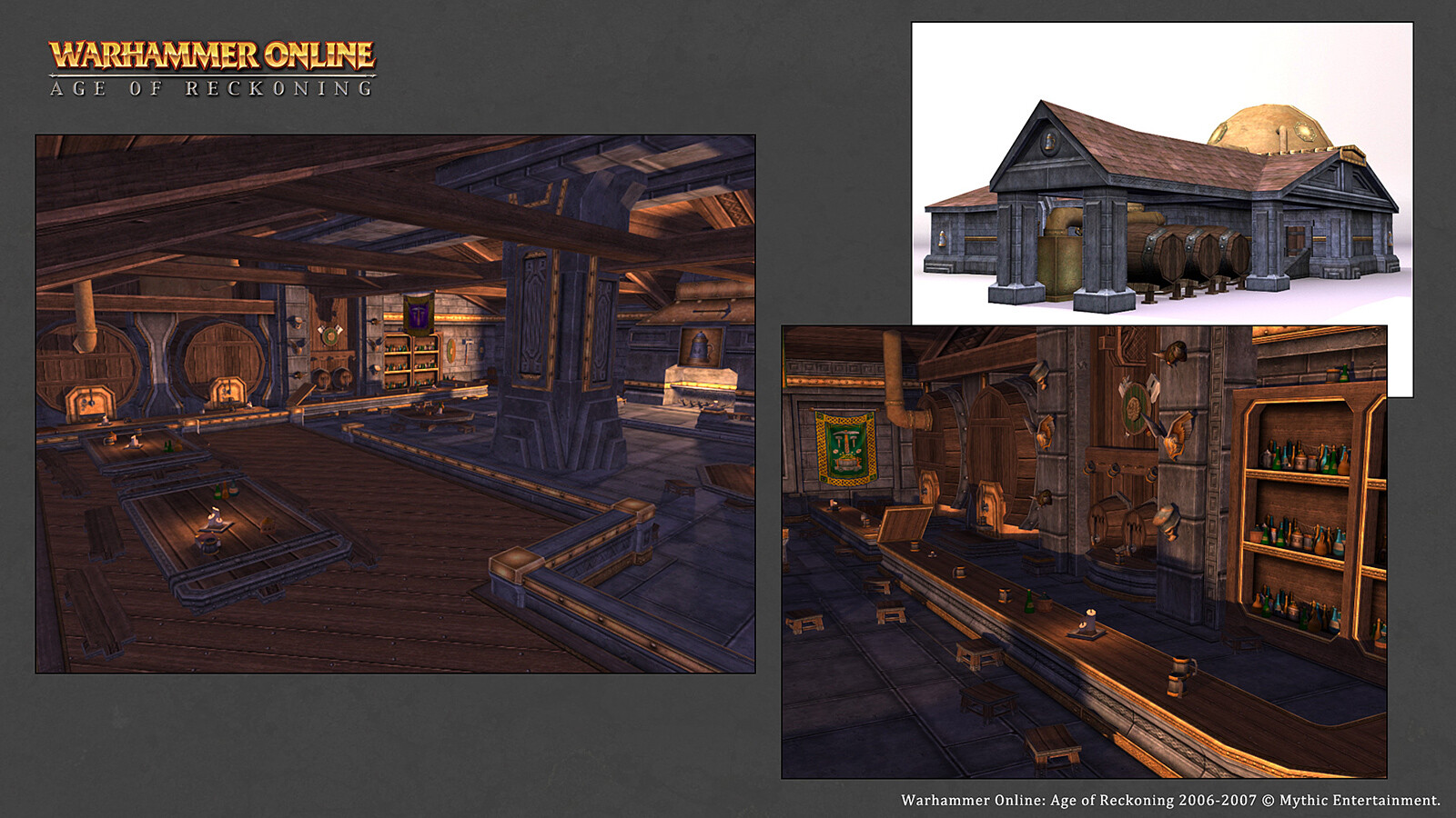 Dwarven Tavern structure created for Warhammer Online. (Diffuse and Specular maps only)