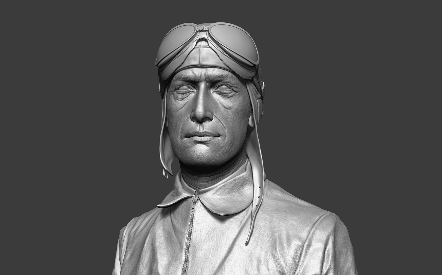 ZBrush High-res sculpture