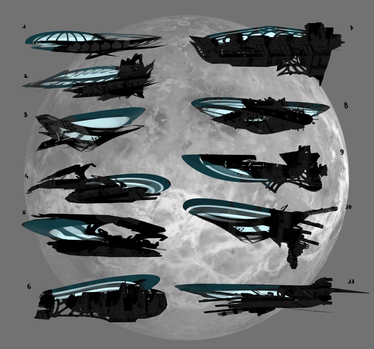 Starship thumbnails