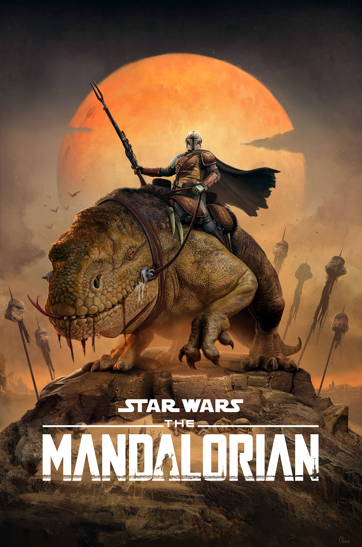 Pablo olivera star wars the mandalarian c low