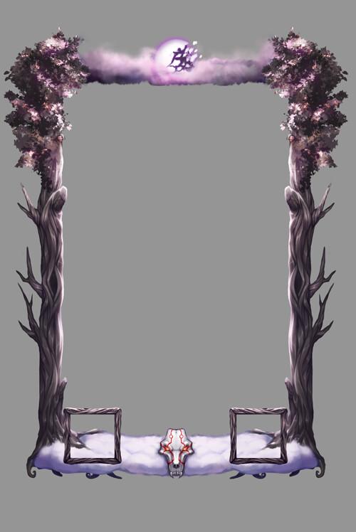 Loading frame (sans animations)