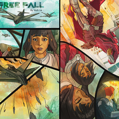 Anh le freefall