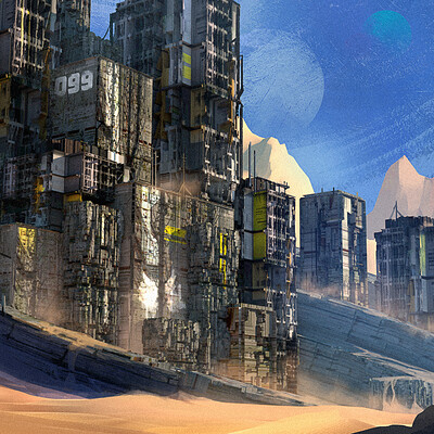 Taha yeasin day49 sci fi temple