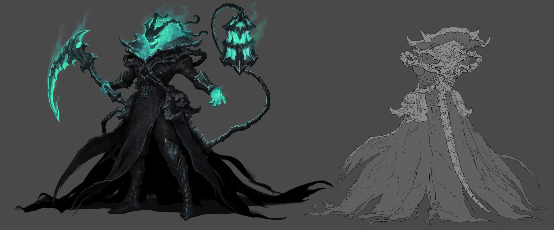 Thresh concept art from The Climb.