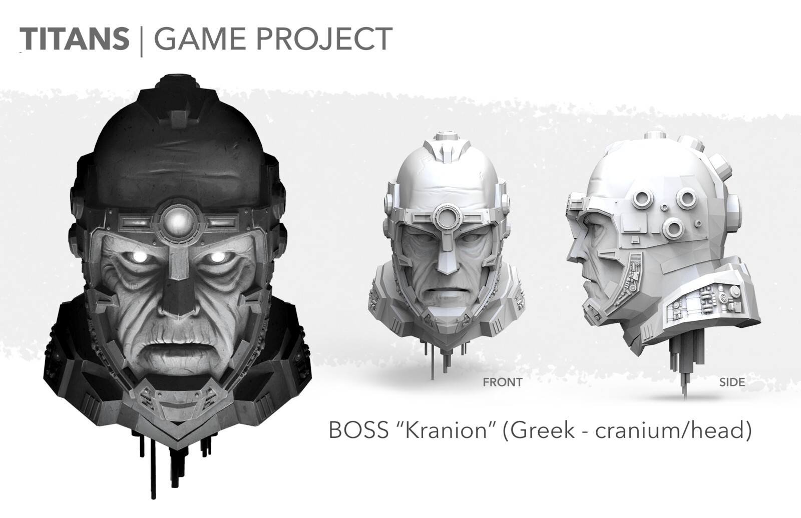 Titans Video Game: Kranion