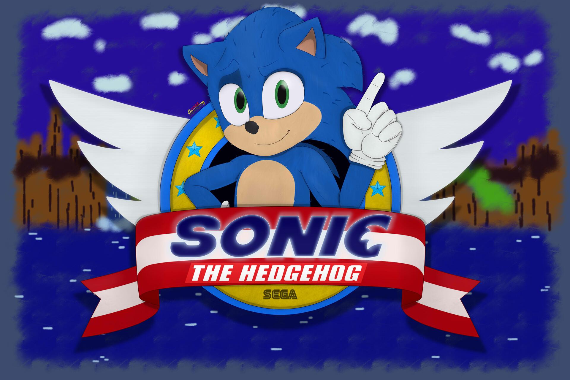 Artstation Sonic The Hedgehog Movie Tribute Leonardo Silva Carvalho