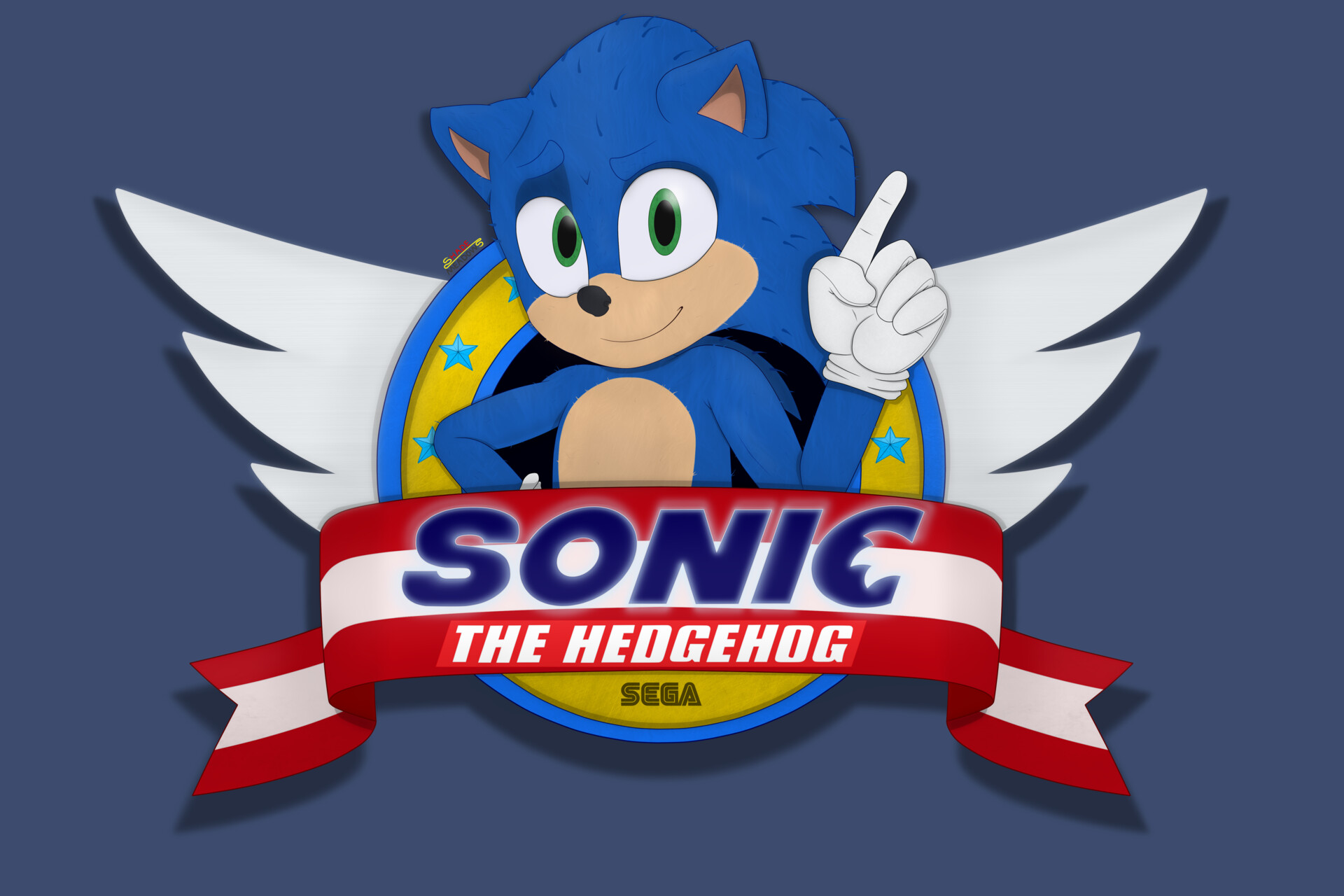 sonic the hedgehog 2 movie logo
