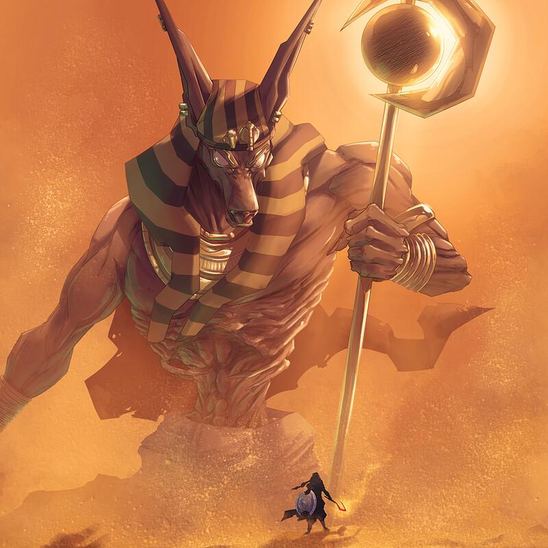 The Desert Scarab (Cover)