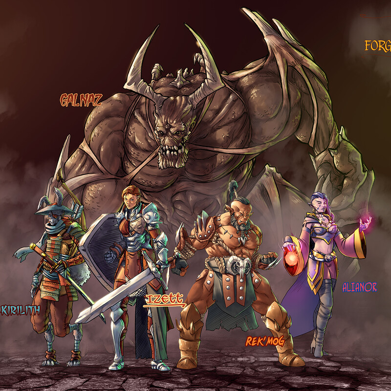 The Company of the Forgotten Realms