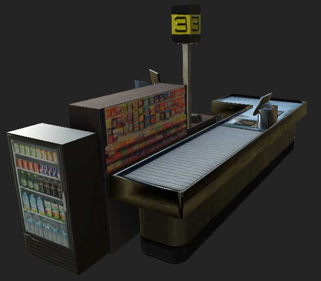 VR Grocery Store Hero Item 2 - Substance Painter