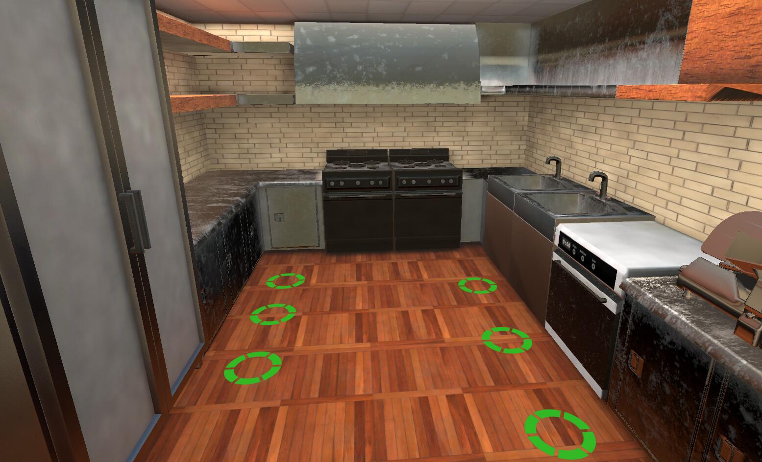 VR Kitchen - In Engine