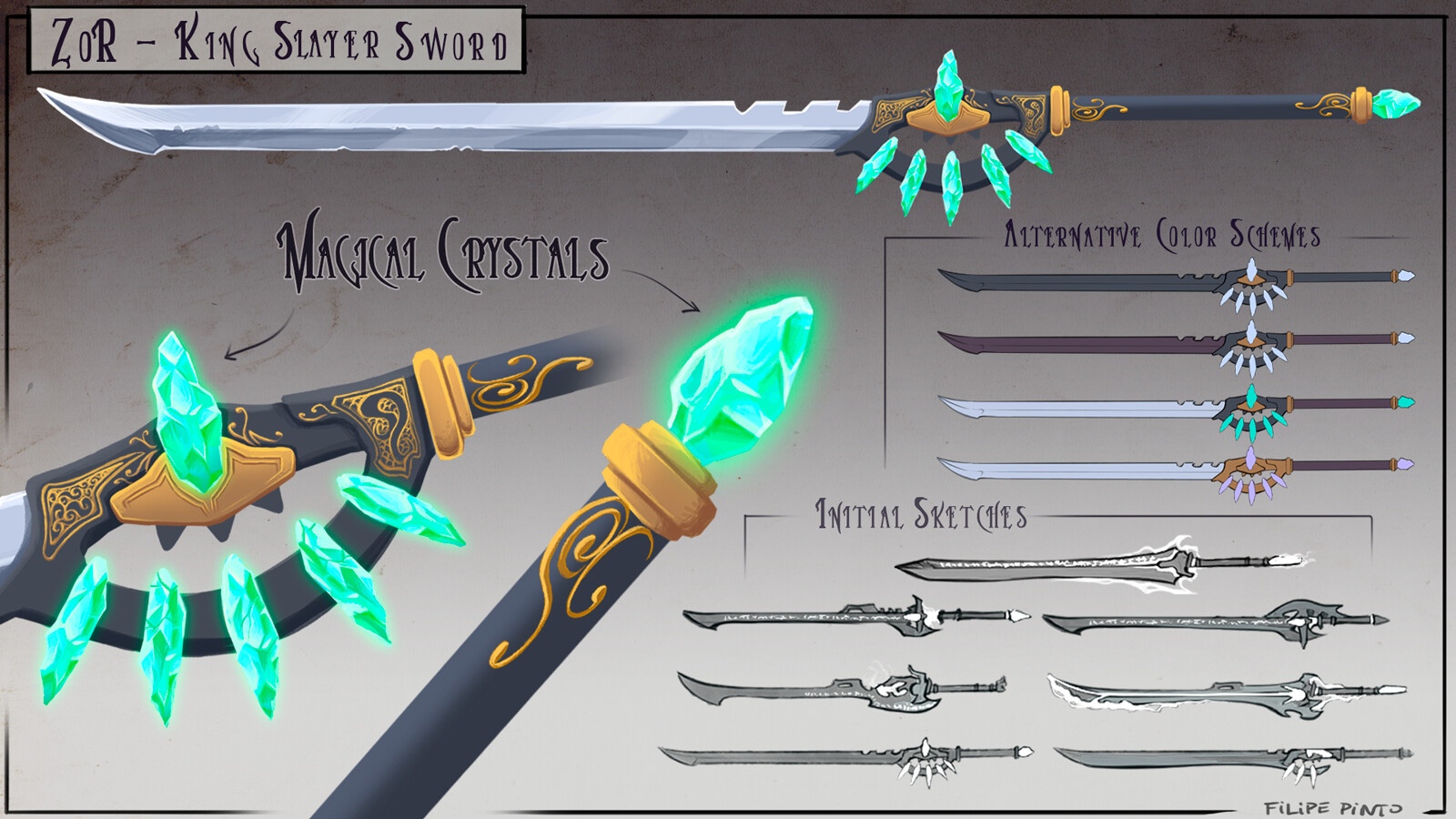 ZOR - King Slayer Sword