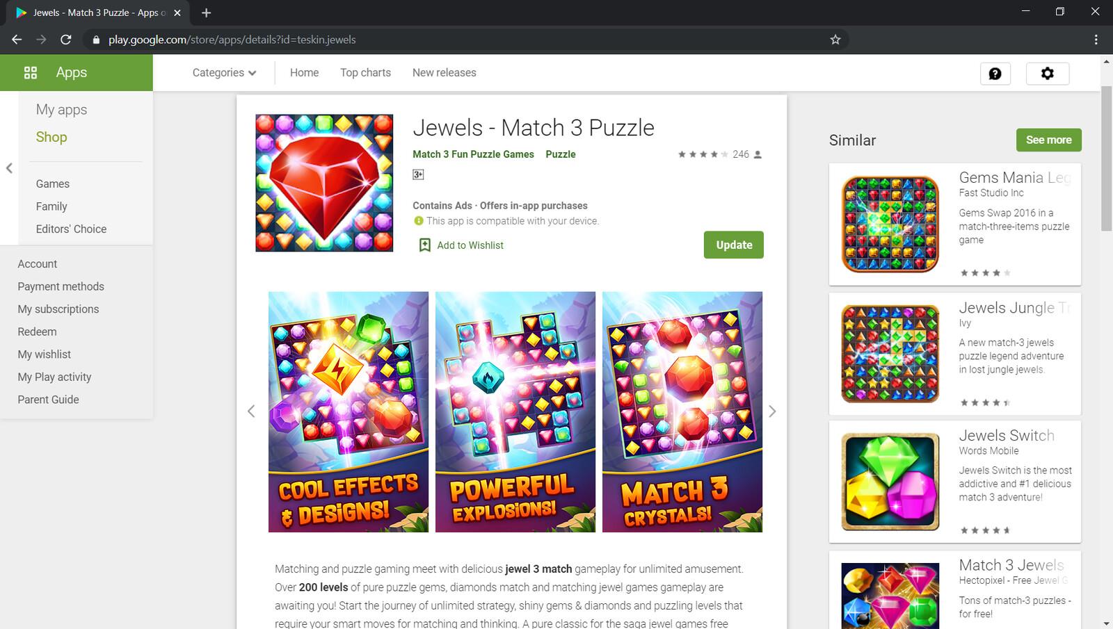 https://play.google.com/store/apps/details?id=teskin.jewels