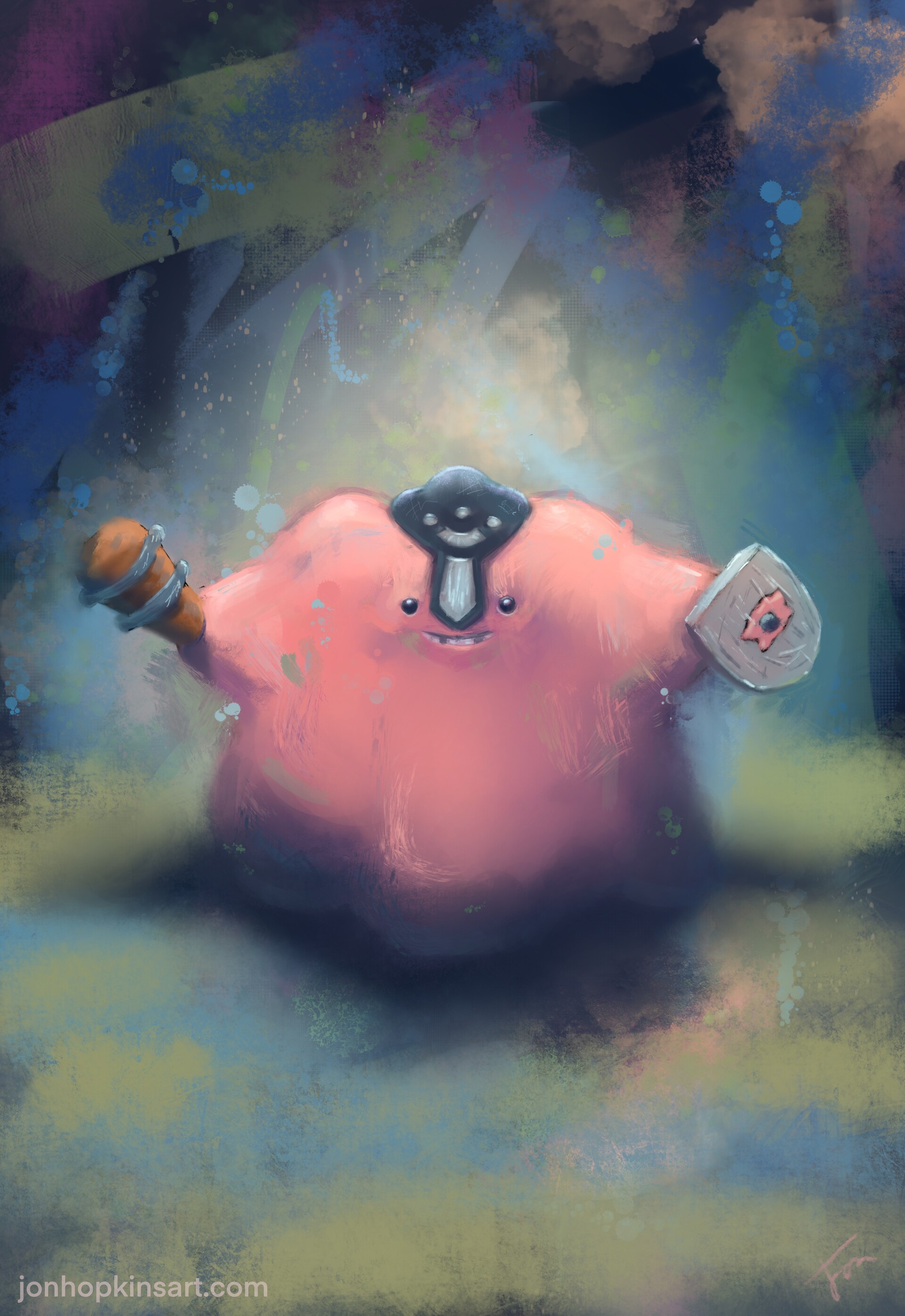 Ditto the poke-knight no.1 in the series.