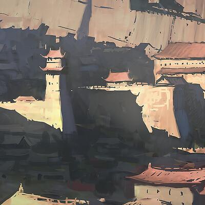 Gilles beloeil fh ev chinese fort rnd 4 bnw sketches gbeloeil