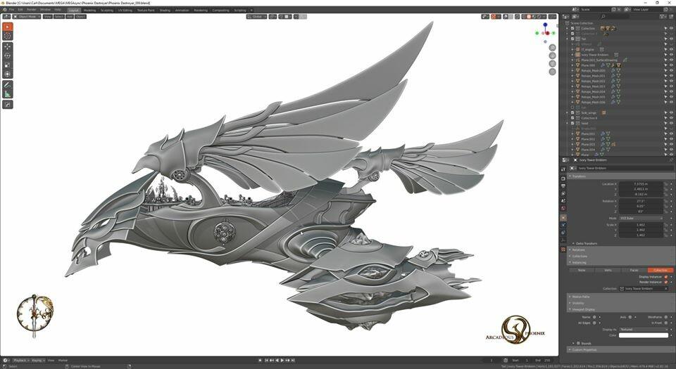 Arcadeous phoenix 26