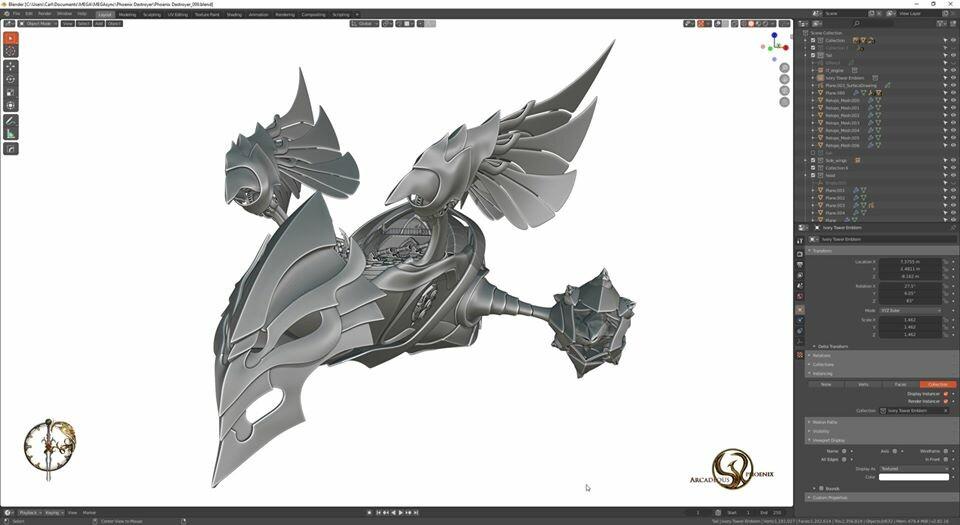 Arcadeous phoenix 32