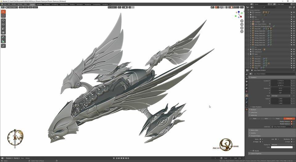 Arcadeous phoenix 29