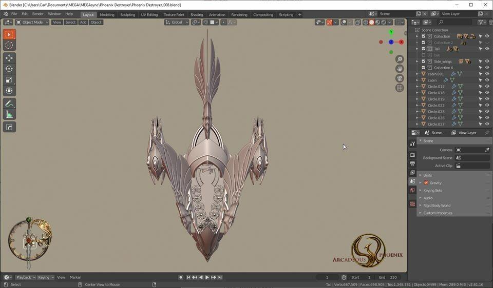 Arcadeous phoenix 24