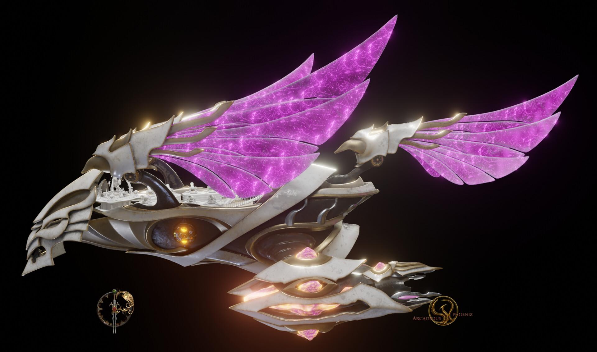 Arcadeous phoenix pd2