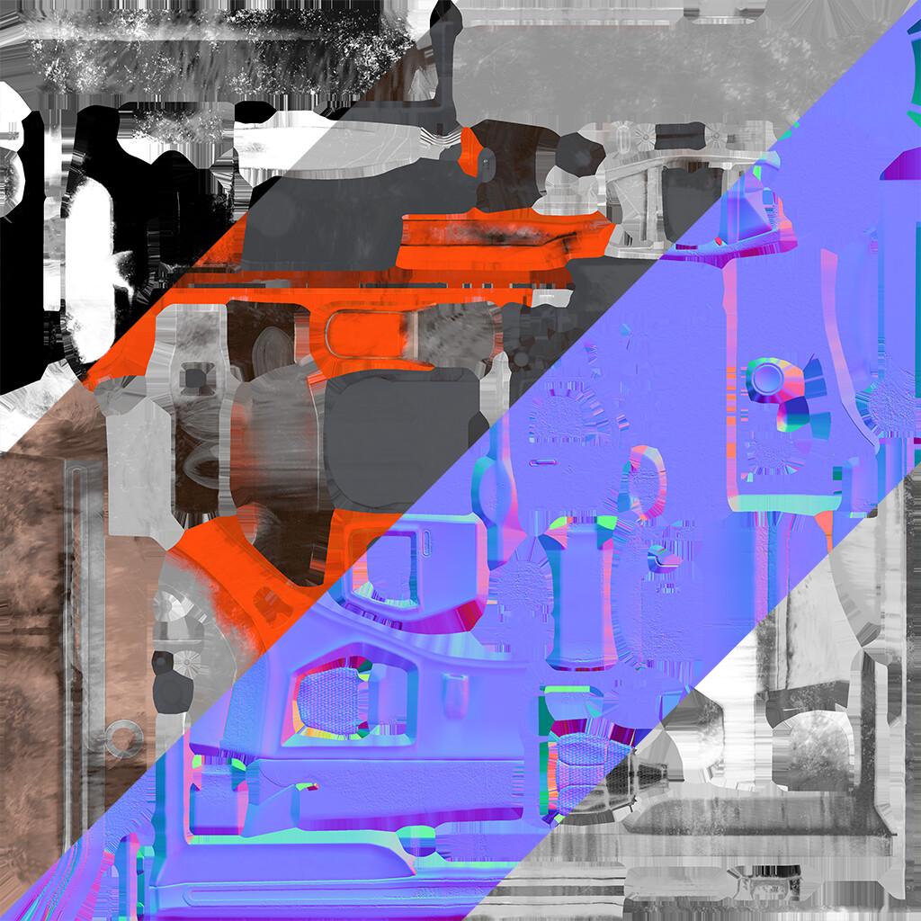 Philip hogg roachmobile texture breakdown
