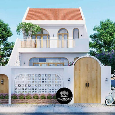 Neohouse architecture nha xinh doc dao