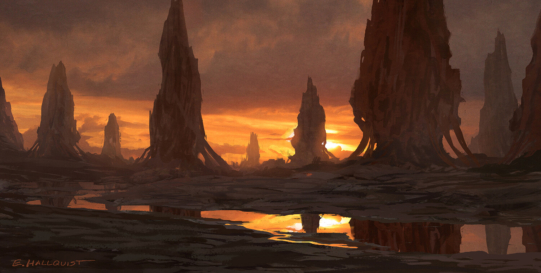 Planet Unknown 01 Sketch