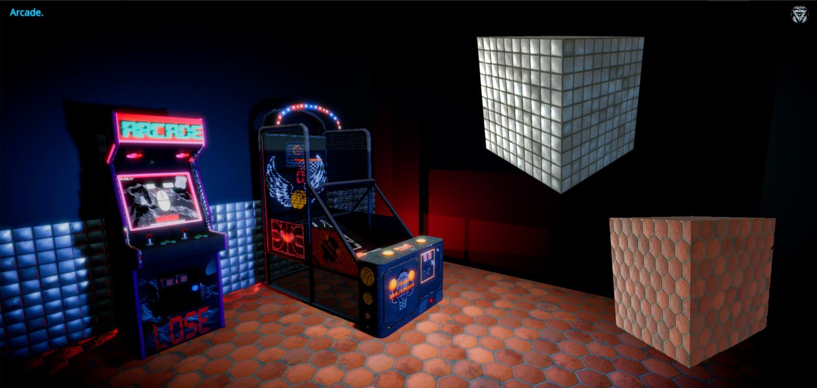 Arcade Unity Render