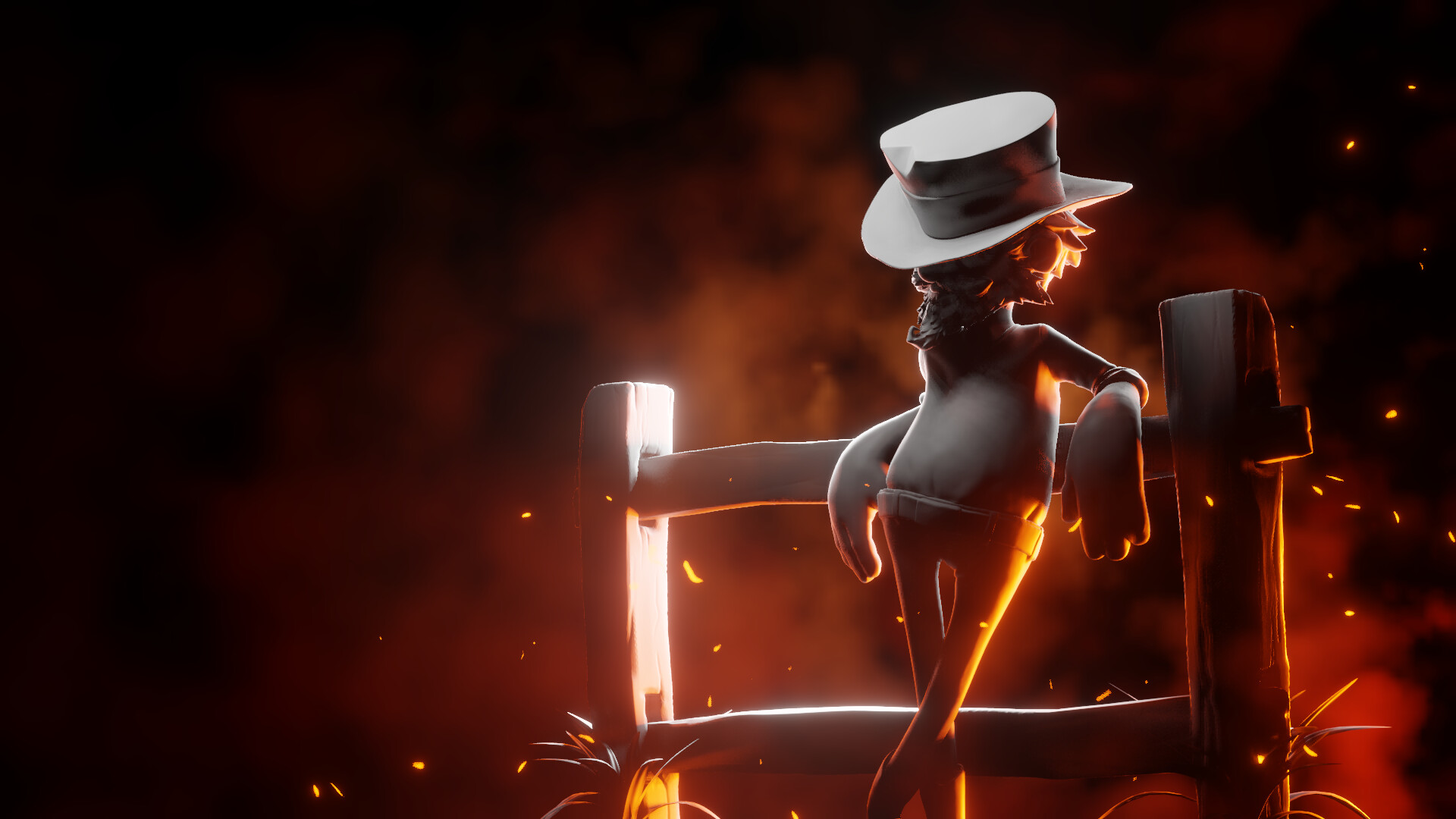 Eeeve render lighting exercise in Blender