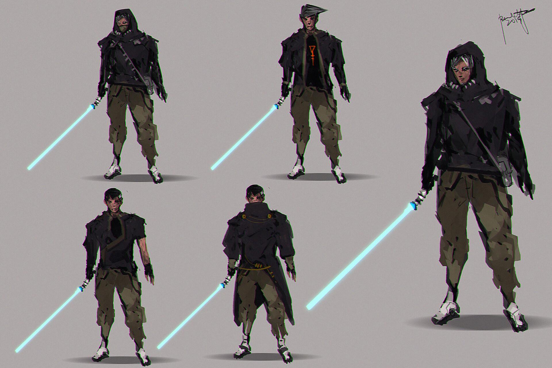 Star Wars Fanart Jedi Rouge Fanart