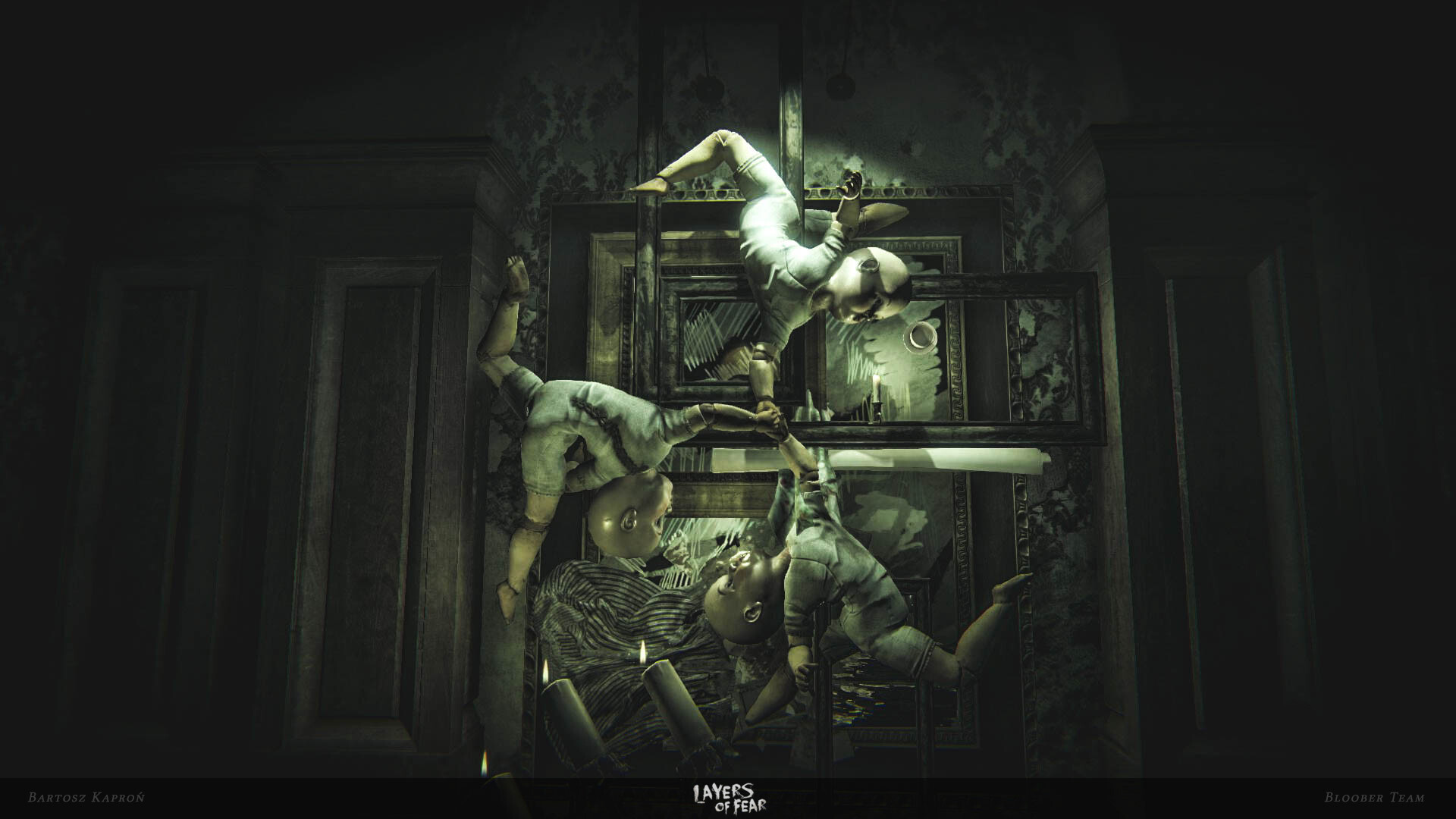 Bartosz Kapron Portfolio - Layers of Fear - Environments | Level Design |  Level Art | 3