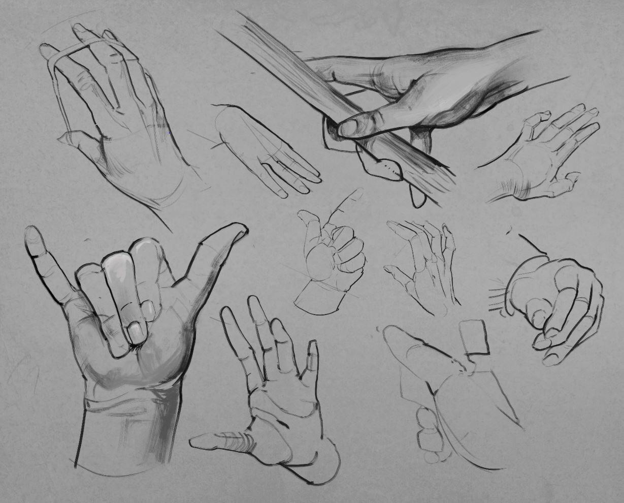 Hands, figures & Anatomy