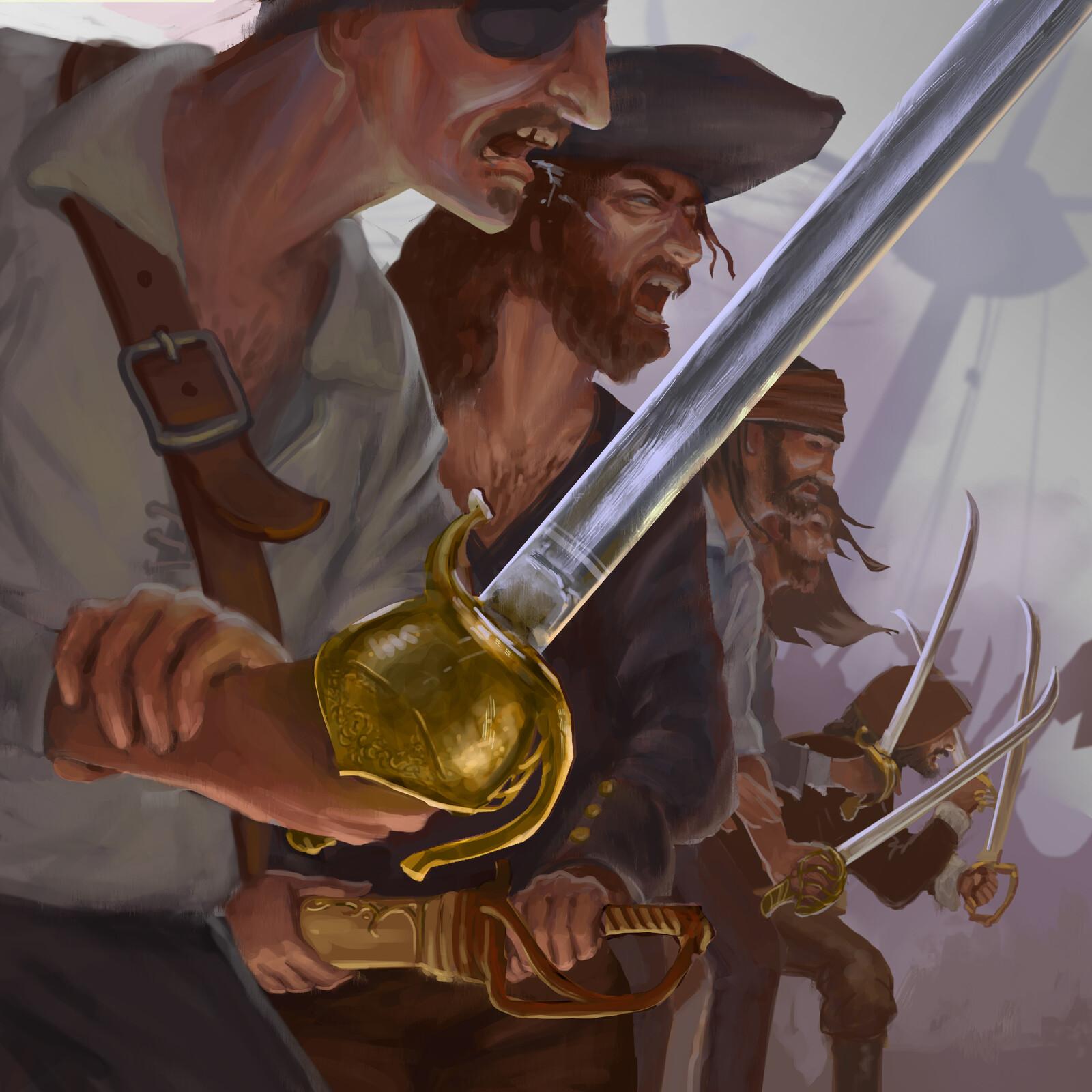 Pirate Cutlasses