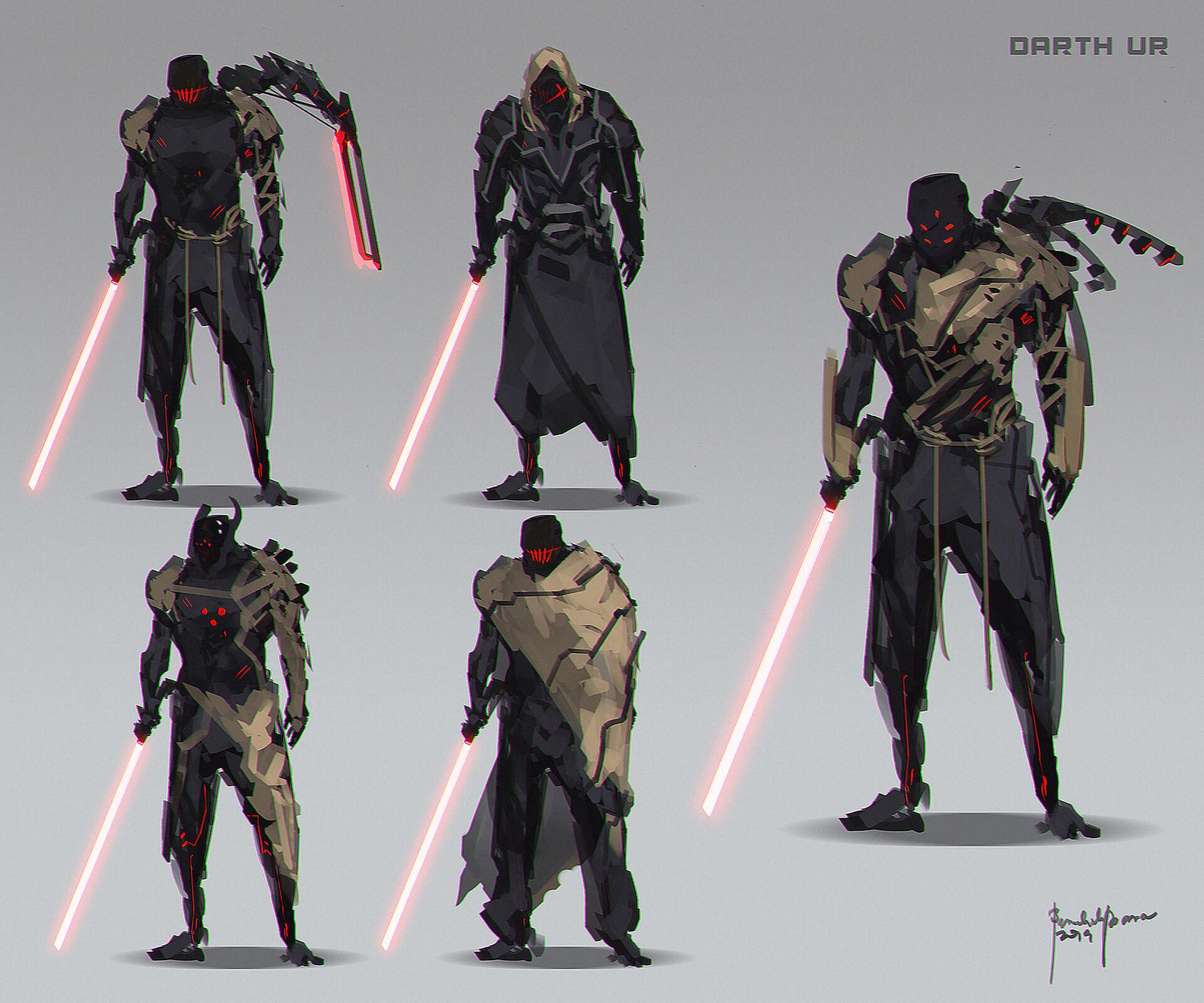 "Original Character design. Sithlord Fanart ""DARTH UR"""