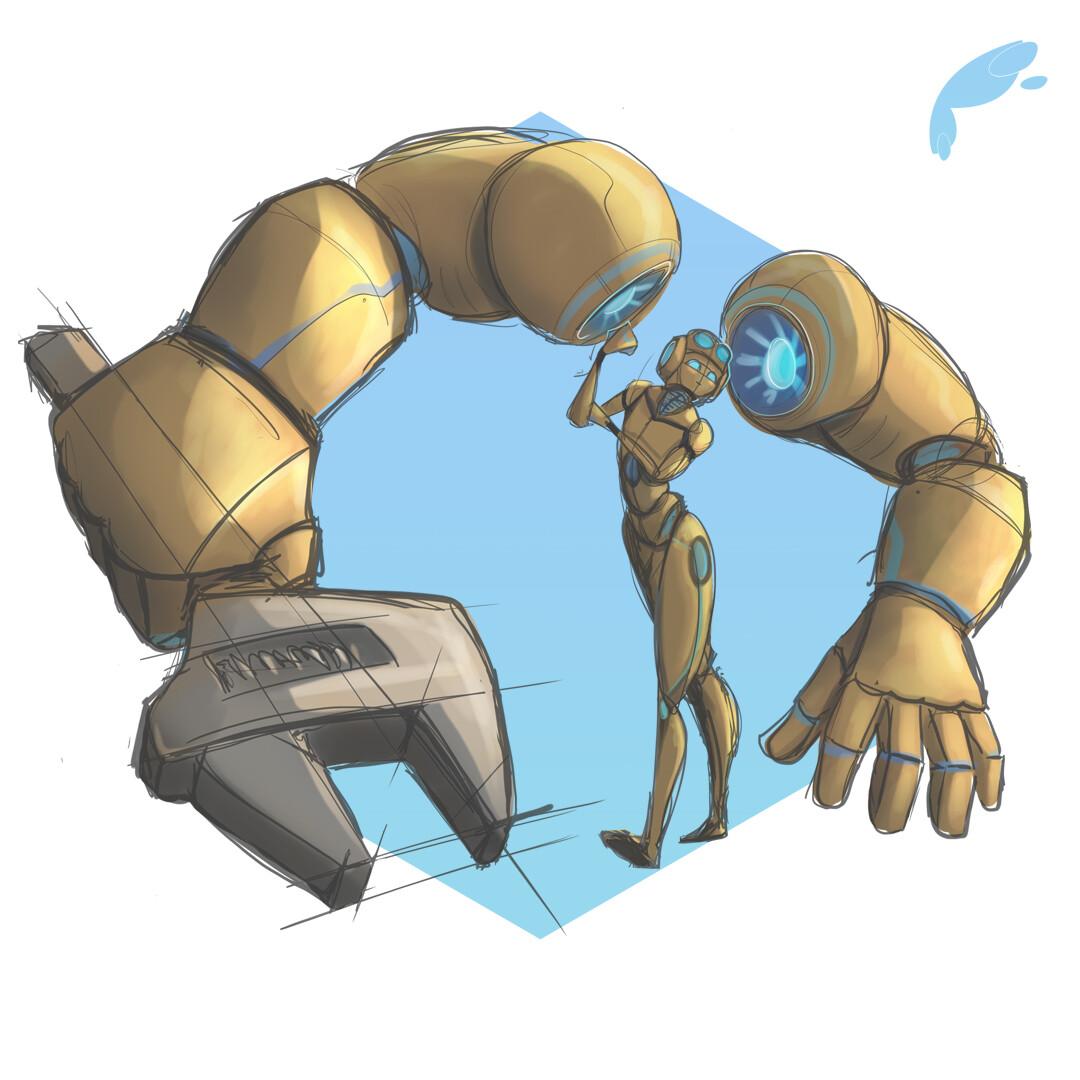 """The Builder"" -Concept Sketch"