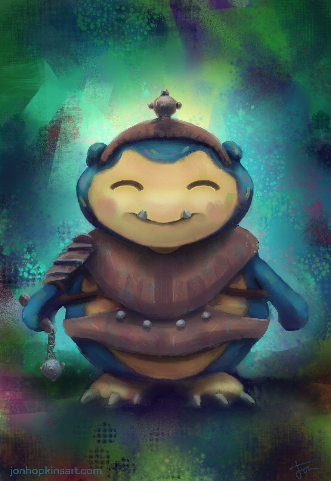 Snorlax the poke-knight no.2 in the series.