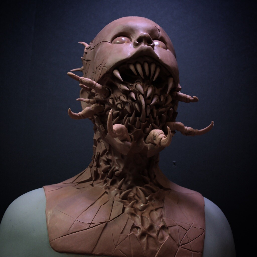 Micah Ebbe Possessed Sculpture For Immortal Masks Immortal masks offer the highest quality, most durable silicone masks on the market. possessed sculpture for immortal masks