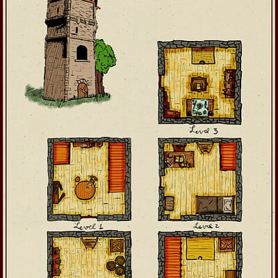 Ronan salieri 17 tower
