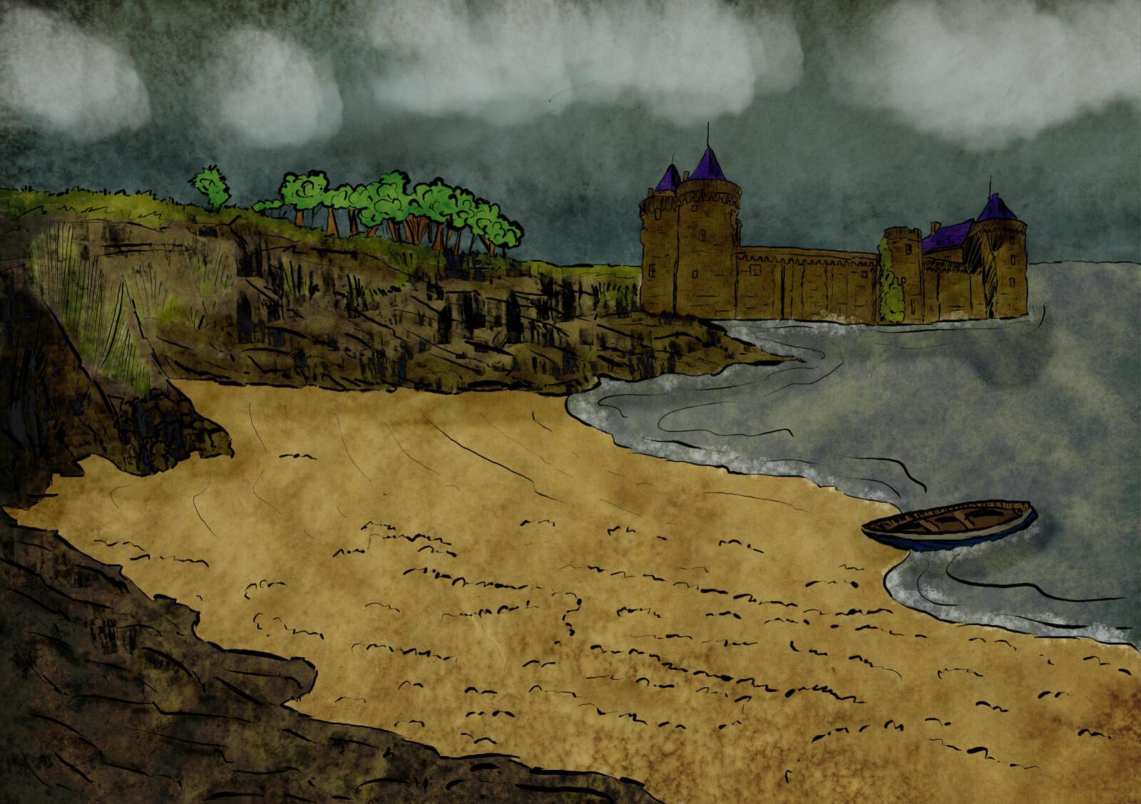 Le château de Tregeroff
