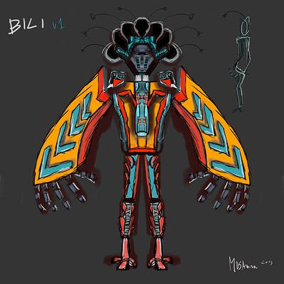 Marcin rozewski concept character design bili v01 artstation